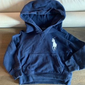 POLO by Ralph Lauren Vintage Wash Navy Hoodie